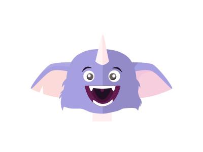 Munchkin creature munchkin purple marketo papertoyhead