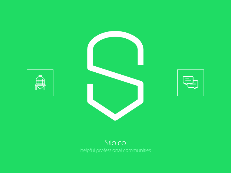 Silo minimal adobe speech bubbles speech balloon color silo vector brand branding illustration iran illustrator design xd typography logo