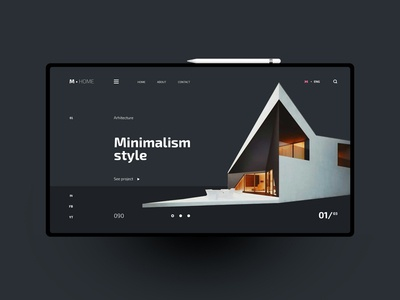 Minimalism website design uxdesign ux uidesign ui landingpage