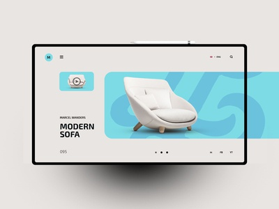 Marcel Wanders website design uxdesign ux uidesign ui landingpage