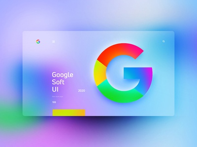 Google Soft UI website design uxdesign ux uidesign ui landingpage