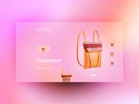Maria Maleta website design uxdesign ux uidesign ui landingpage