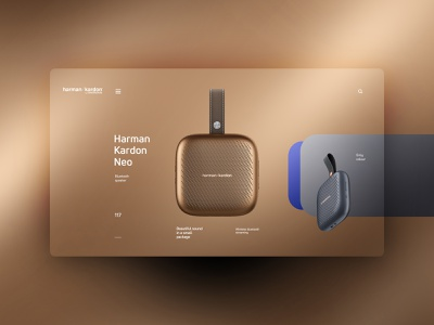 harman kardon website design uxdesign ux uidesign ui landingpage