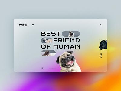 Mops website design landingpage uxdesign ux uidesign ui