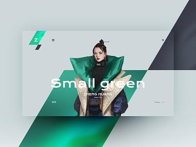 Zheng Huang website design landingpage uxdesign ux uidesign ui