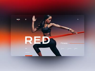 RED website design landingpage uxdesign ux uidesign ui