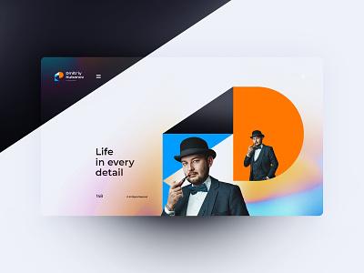 Dmitriy Kubanov Photographer branding logo website design landingpage uxdesign ux uidesign ui