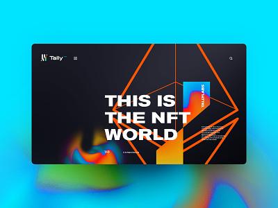 Tally Labs branding logo illustration website design landingpage uxdesign ux uidesign ui
