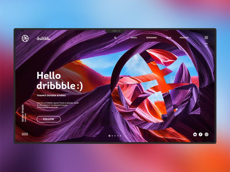 Hello Dribbble 1 002