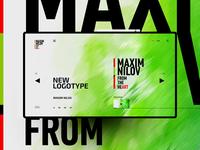 New Logo Maxim Nilov