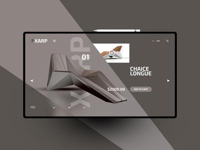 XARP website design uxdesign ux uidesign ui landingpage