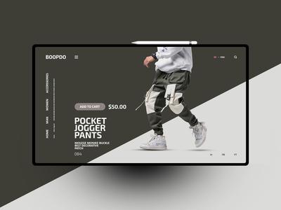 Boopdo website design uxdesign ux uidesign ui landingpage