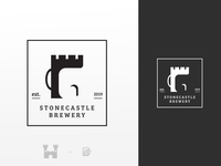 Logo design for Stonecastle Brewery