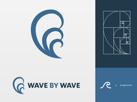 Logo - wave by wave