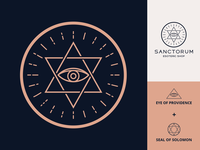 Sanctorum Esoteric Shop Logo