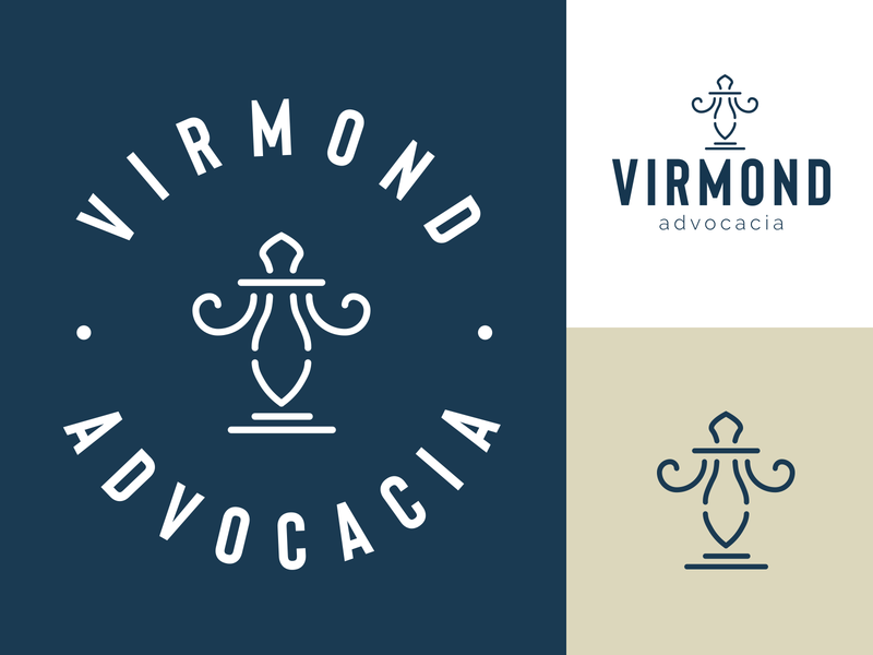 Virmond Law firm logo ideas