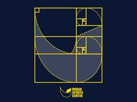 Logo construction for Urban Sports Center