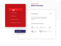 Services section for website