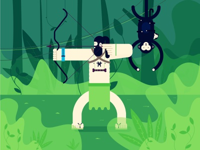 Archer adobe tehran iran archer money nature design vector illustrator illustraion