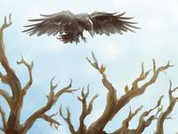 Boom en Kraai (Tree and Crow)