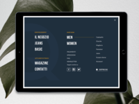 Quotidienne Jeans+Basic E-Shop Navigation