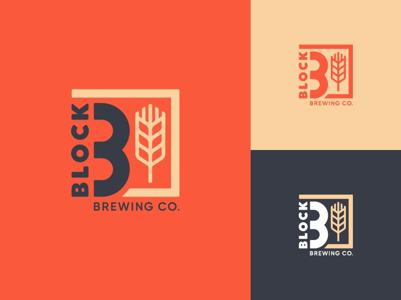 Block 3 Brewing Co. – Rebrand rebranding rebrand color logo design craft brewery craft beer brewery logo beer illustration vector identity typography logo design branding
