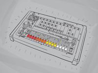 808 (20 minute sketch)
