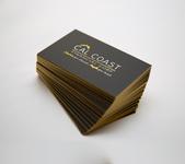 Business Card Design Cal Coast Financial & Intero®