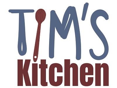 Tims Kitchen Logo branding award winning logo graphic design art direction typography design