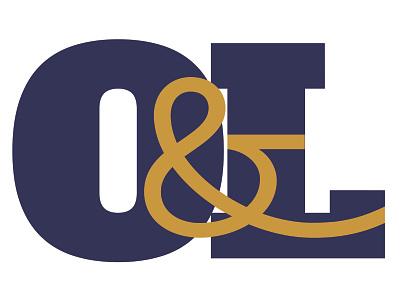 Obrien & Levine Icon ampersands icon branding logo graphic design art direction typography design