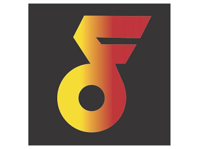 Digital Flash Logo icon branding logo graphic design art direction typography design