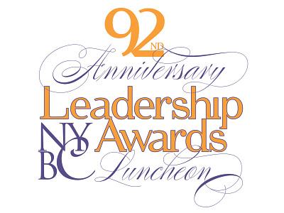 New York Building Congress Event Logo event logo branding logo graphic design art direction typography design
