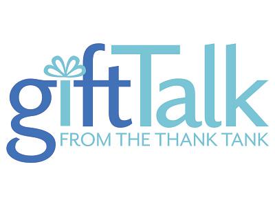 Gift Talk logo award winning branding logo graphic design art direction typography design