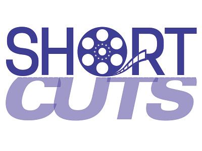 Short Cuts logo icon branding logo graphic design art direction typography design