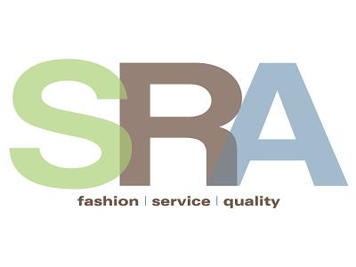 SRA Logo wordmark logo branding award winning logo graphic design art direction typography design