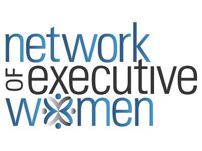 Network of Executive Women Logo award winning branding logo graphic design art direction typography design