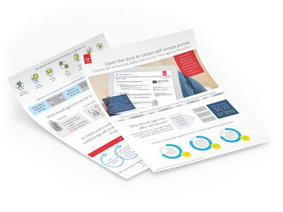 Government Sales Sheet award winning infographic design graphic design design