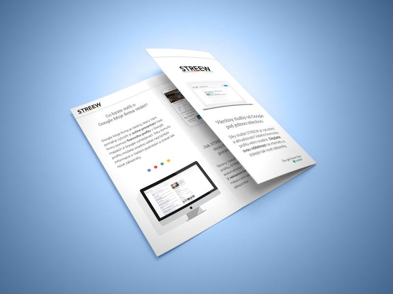 Z fold brochure branding material design brochure design print brochure