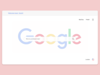 Google Redesign for Web