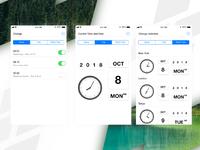 Clock App Screens Redesign