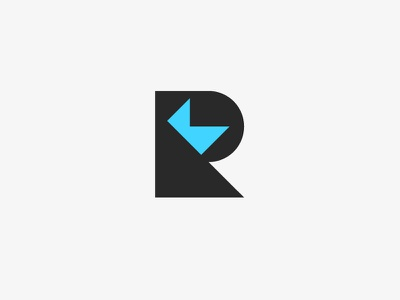 My Logo logo flat rex kirby simple minimal portfolio design flat design branding