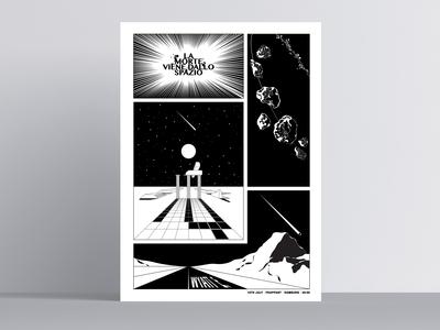 La Morte Viene Dallo Spazio / Wyatt E. Gigposter