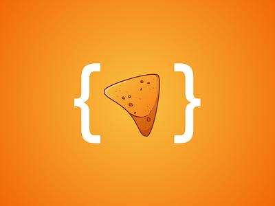 Nacho Chip Icon fullsnack snacks snack icon cheese nacho junk chips food nacho