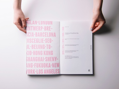 Alternative Fashion Designers book dribbble debut debut letters typography layout design paper print book