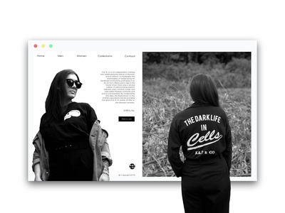 Kat and co Landing Page