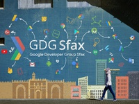 GDG Sfax Street Wall Style style Banner
