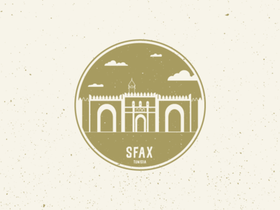 Sticker for Sfax, Tunisia
