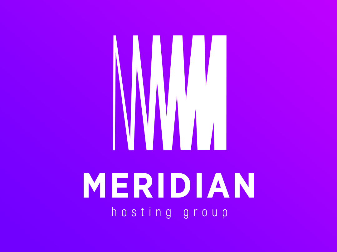 Logo Meridian colorful trend 2019 progressive logos brands company hosting identity minimal logofolio icon flat vector symbols marks minimalistic logotype logo illustration branding