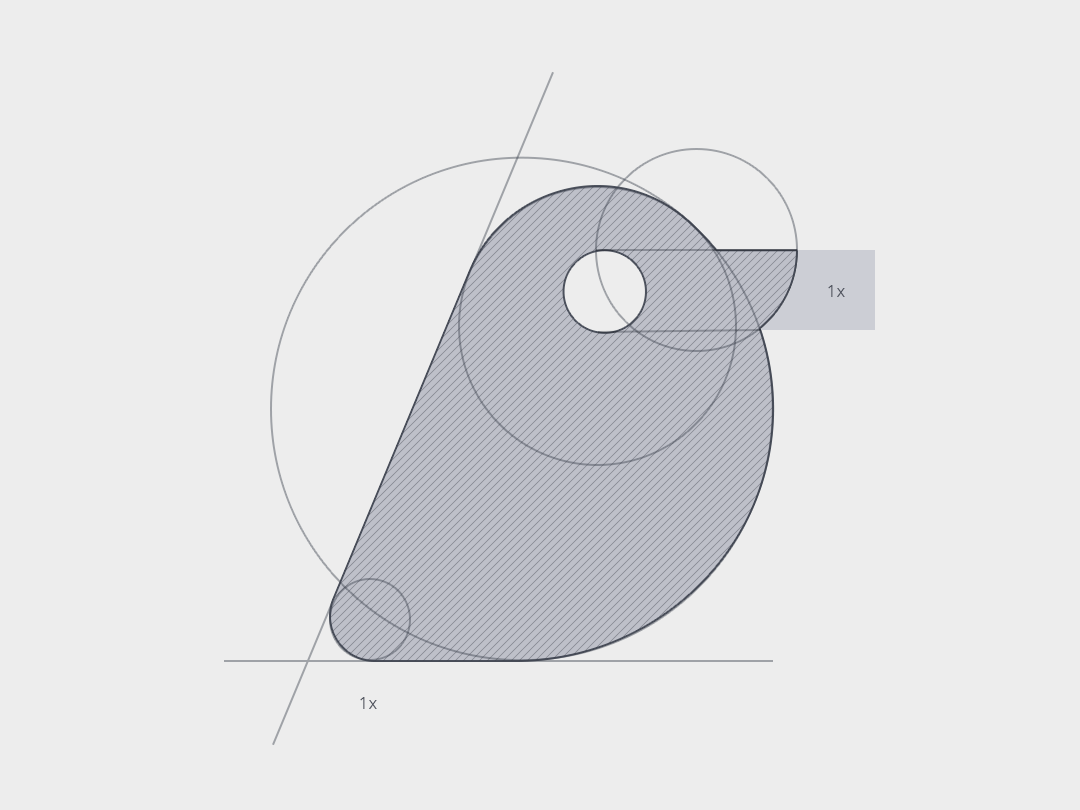 Grid Logo - Bird identity branding design illustration logo logotype marks symbols vector flat icon logofolio logogrid grid sketch logo sketch grid logo collection brands minimalistic