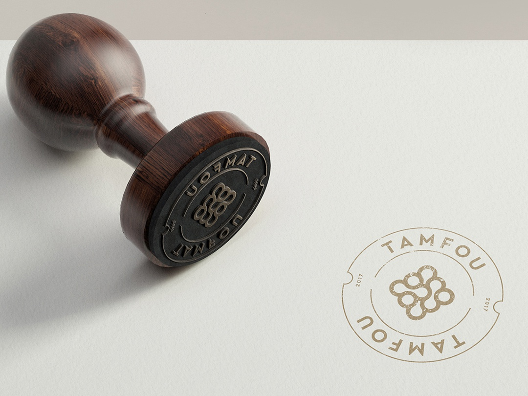 TAMFOU - Brand Identity logos brand design identity branding brands logo logotype symbols minimalistic logofolio minimal typography accessories